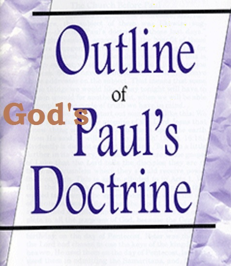Checklist for Doctrines of God and Paul study:  the Tree of Life and Destructive Distortions of Bible Doctrines
