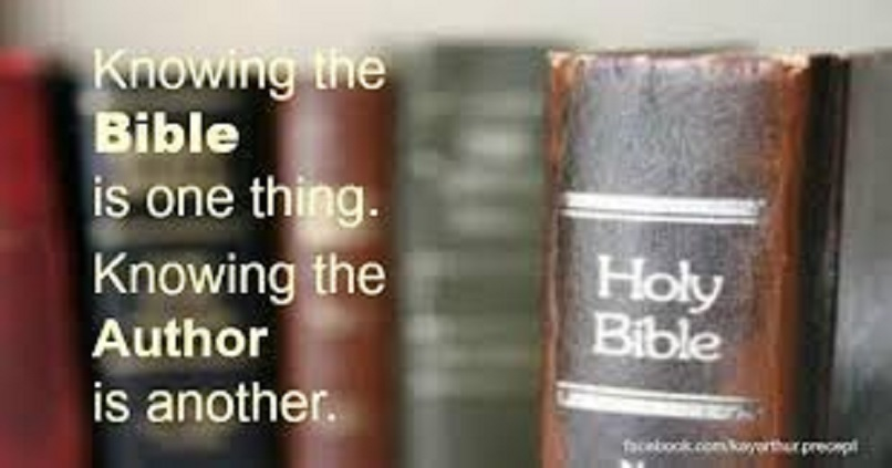 THE BIBLE IS ONE!